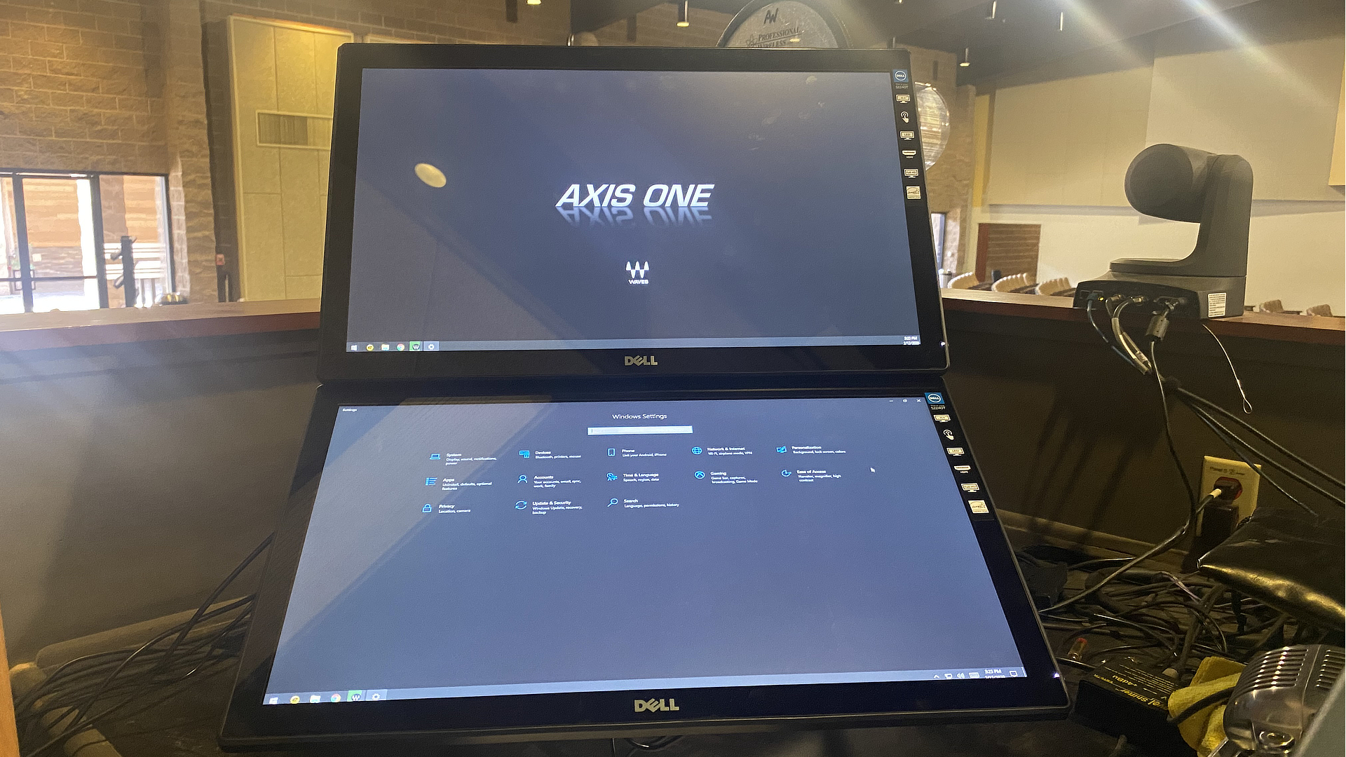Dual Touchscreens